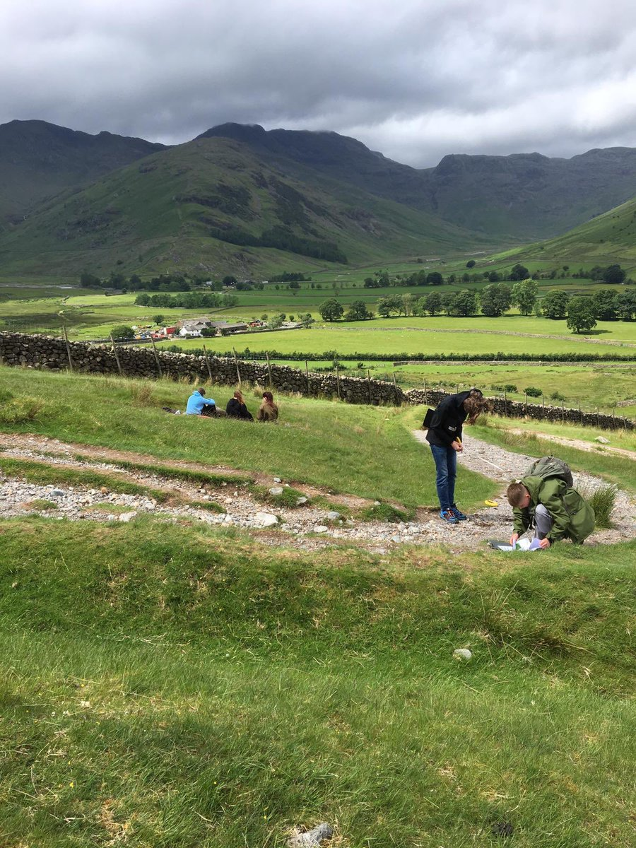 Year 10 Geography Lake District Trip