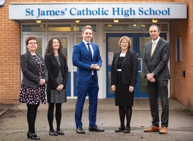 st james catholic high school cheadle show my homework